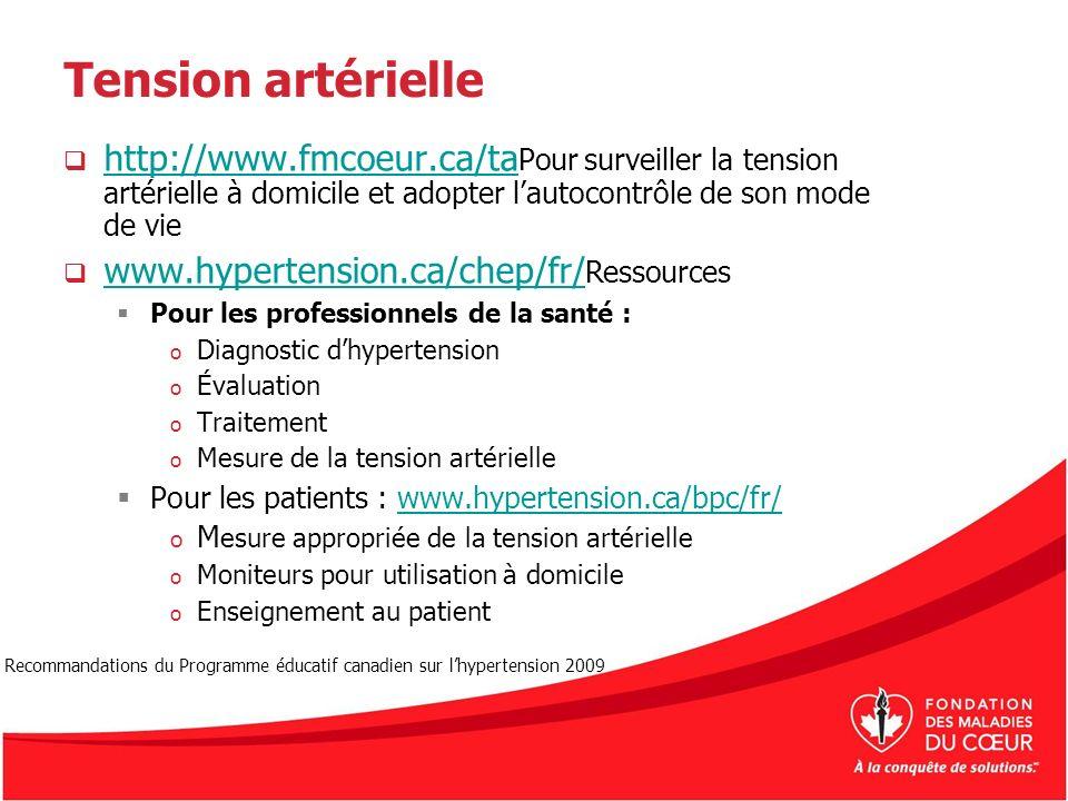 Tension artérielle http://www.fmcoeur.ca/ta Pour surveiller la tension artérielle à domicile et adopter lautocontrôle de son mode de vie http://www.fm