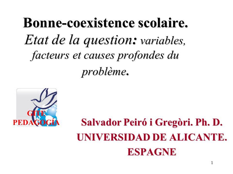 51 Champ sémantique de «l éducation» GITE PEDAGOGÍA Dr.