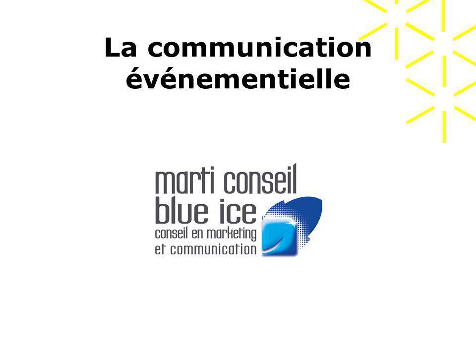 La communication événementielle mars 2007