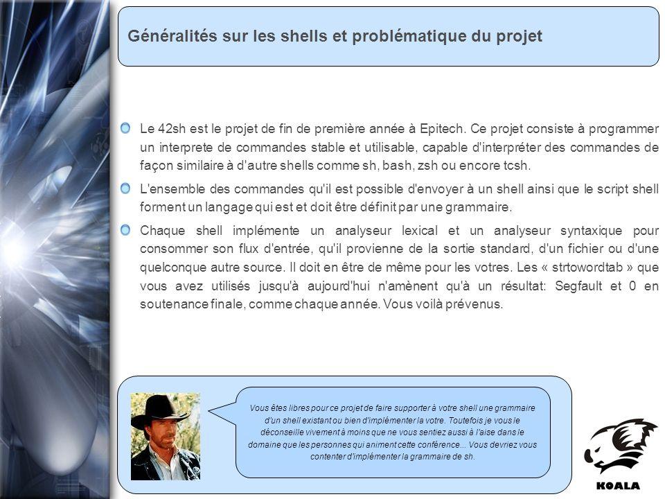 Réunion de service informatique Fatih Bellachia 23 janvier 2007 Généralités sur les shells et problématique du projet Vous êtes libres pour ce projet