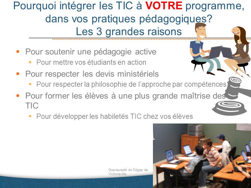 Comment Intégrer les TIC … 38