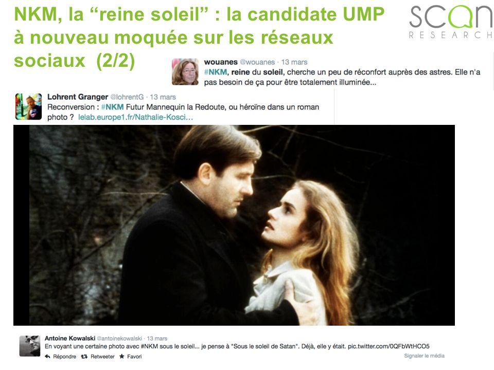 Scan-research NKM, la reine soleil : la candidate UMP à nouveau moquée sur les réseaux sociaux (2/2)