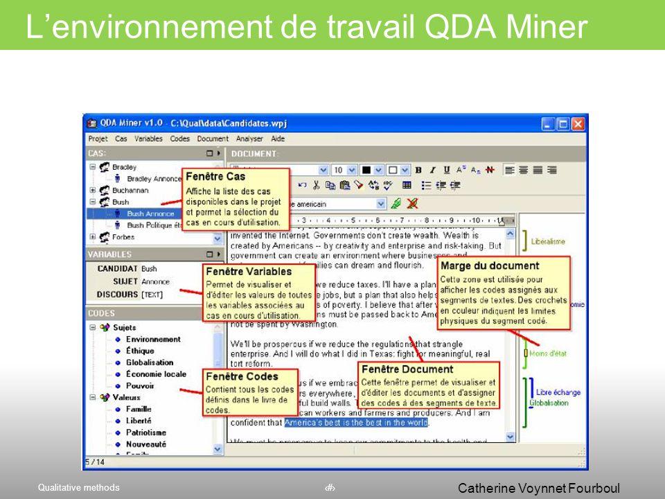 Qualitative methods49 Catherine Voynnet Fourboul Click to edit Master title style 49 Nombre doccurrences de la catégorie