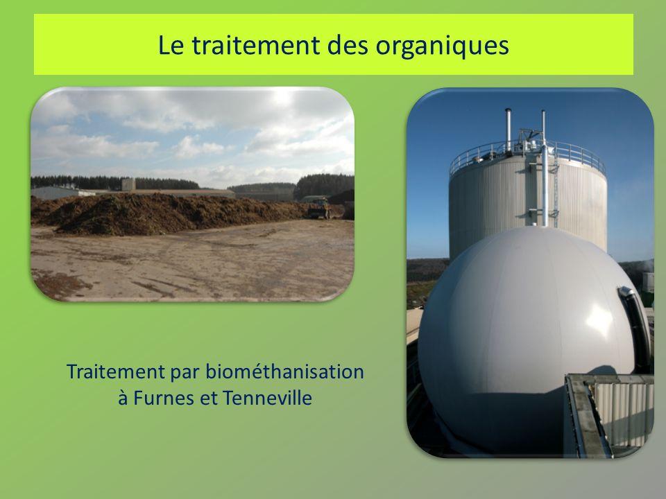 Le traitement des organiques Traitement par biométhanisation à Furnes et Tenneville