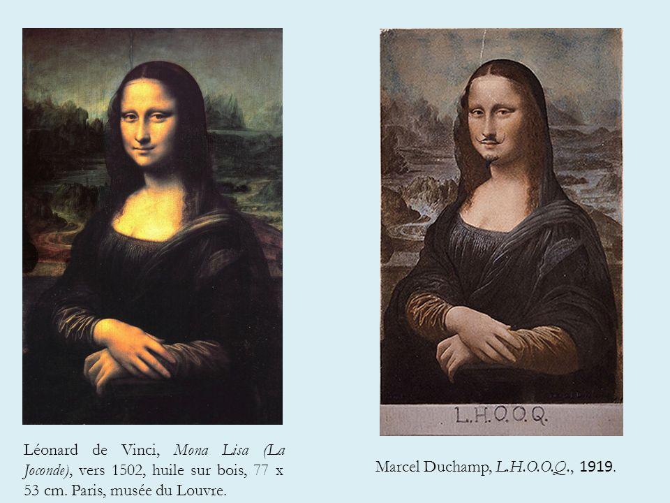 Léonard de Vinci, Mona Lisa (La Joconde), vers 1502, huile sur bois, 77 x 53 cm.