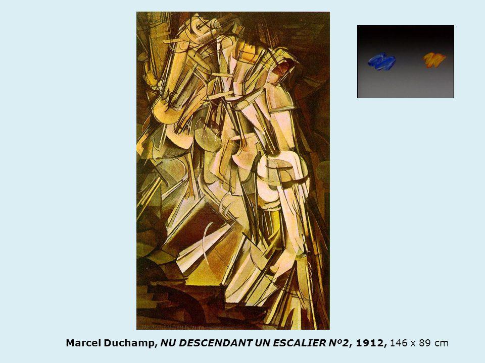 Marcel Duchamp, NU DESCENDANT UN ESCALIER Nº2, 1912, 146 x 89 cm