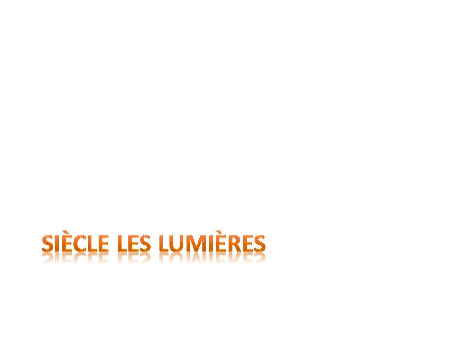 Définition de Siècle des Lumières En Europe, nom donné au XVIII e siècle en raison du mouvement intellectuel, culturel et scientifique de lépoque.