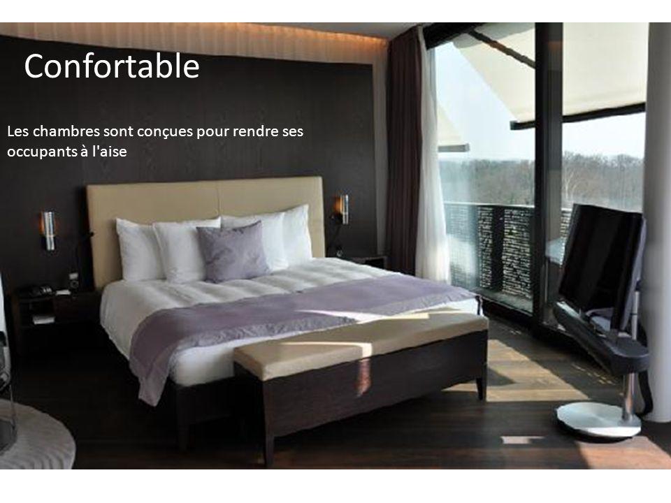 Confortable Les chambres sont conçues pour rendre ses occupants à l aise