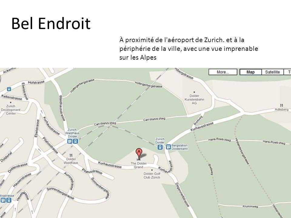 Bel Endroit À proximité de l aéroport de Zurich.