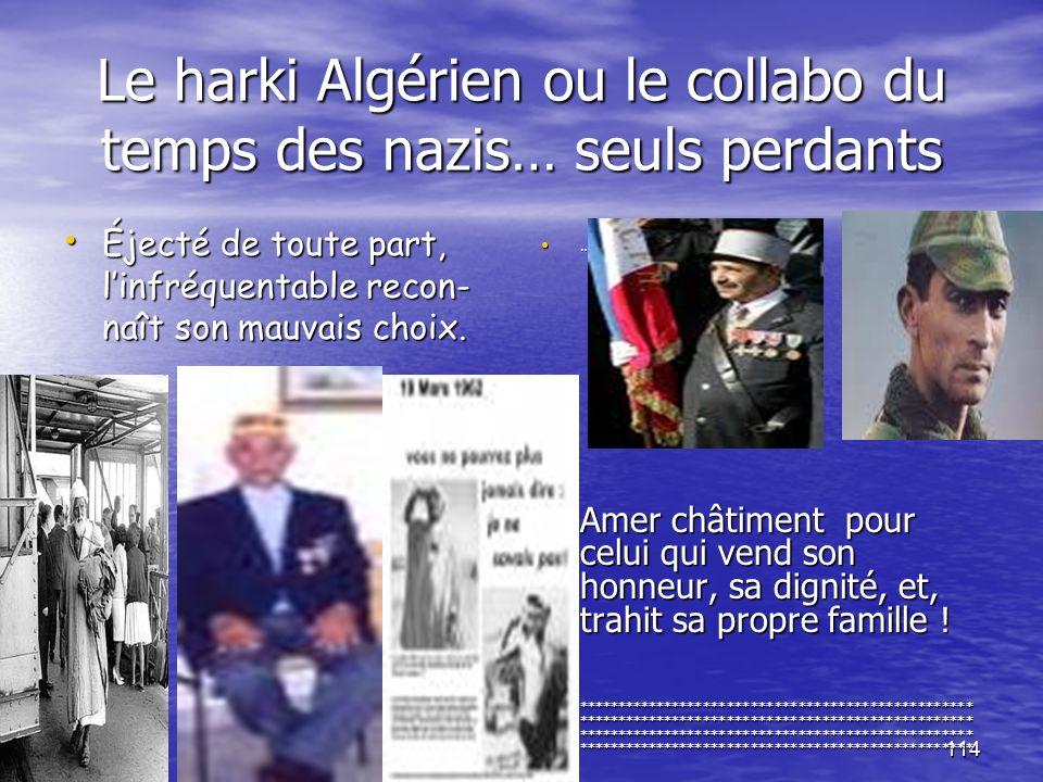 113 Les extrémistes confondaient entre lAlgérie et la France .