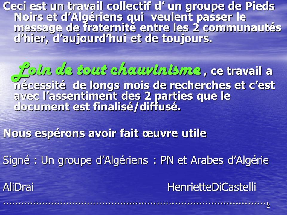 52 La presse Française annonce la couleur * un quotidien daté du : <=== 02/11/1954 annonce des attaques simultanées sur tout le territoire La synchronisation donna à réfléchir sur ce qui allait suivre………..