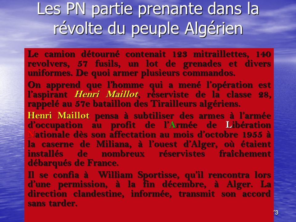 72 Un Algérien fier et digne et… sans oeillères : Henri Maillot ! livre aux rebelles livre aux rebelles qui est rebelle ? qui est rebelle ? Loccupant