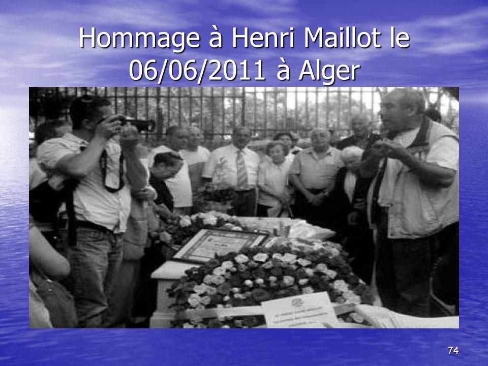 73 Les PN partie prenante dans la révolte du peuple Algérien Le camion détourné contenait 123 mitraillettes, 140 revolvers, 57 fusils, un lot de grena