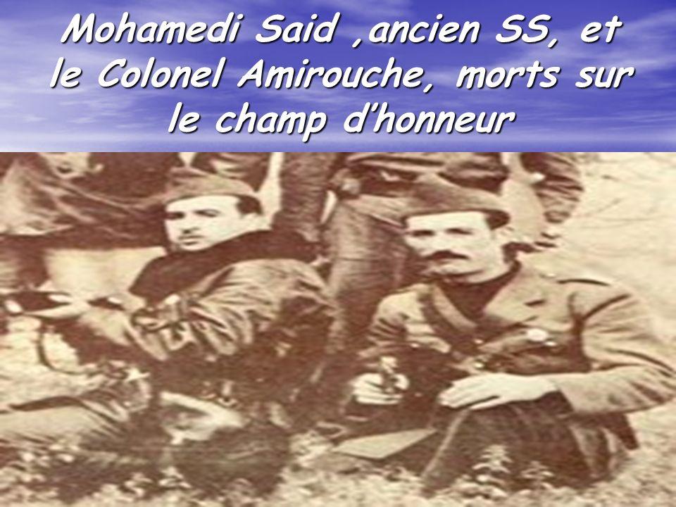 77 Le « renard » de la Casbah dAlger Zoubir Ben Ganif Osera fréquemment des incursions en ville avec la complicité de certains harkis infiltrés (taupe