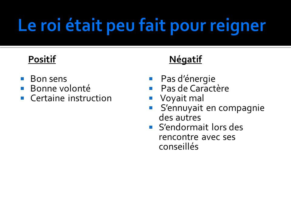 Au 18 ième siècle, expliqué les trois raison principales de pourquoi la France était en grand désordre.