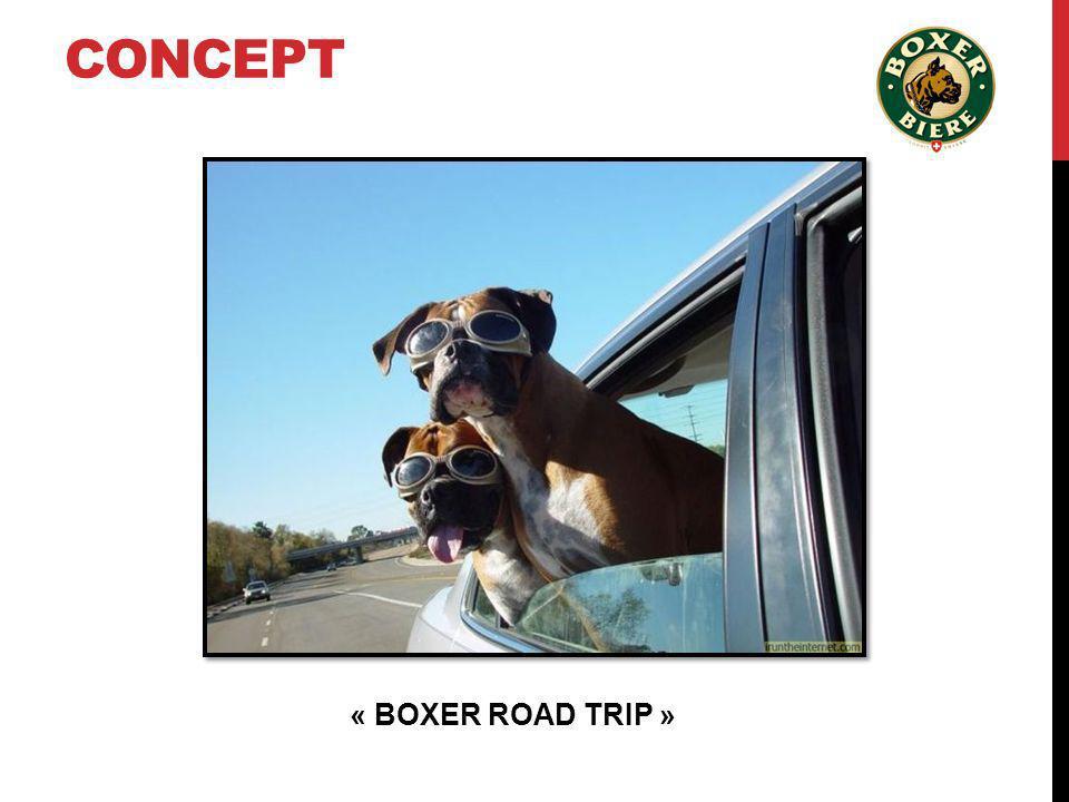 CONCEPT « BOXER ROAD TRIP »