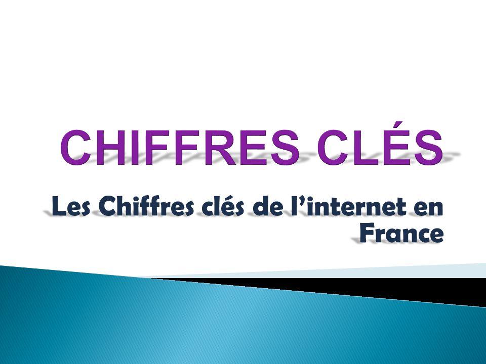 Menu Principale Les Internautes en France Le nombres dinternautes.
