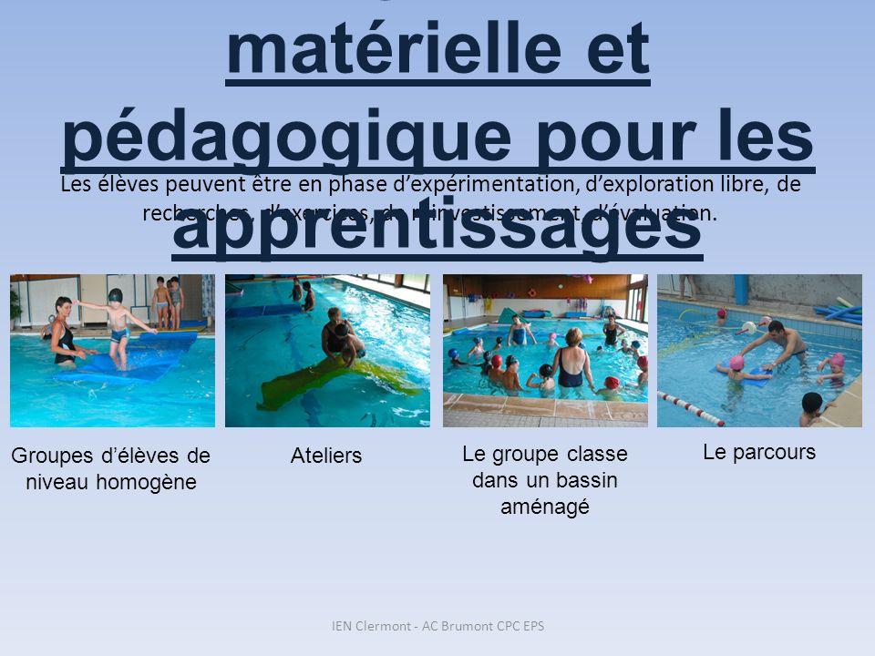 Surveillance = MNS Enseignement = MNS + enseignant Aide au bord du bassin ou dans leau = parent(s) agréé(s) Aide en dehors du bassin (vestiaire, car…) = parent(s) non agréé(s) 5.