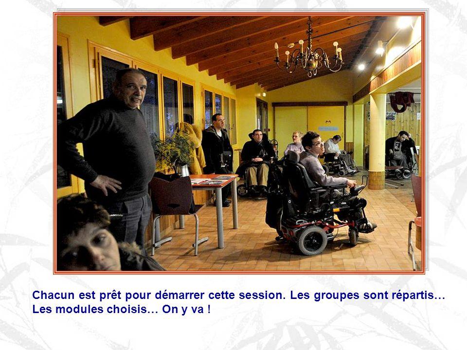 Ces sessions sont toutes organisées par des bénévoles, acteurs eux aussi de lAPF.