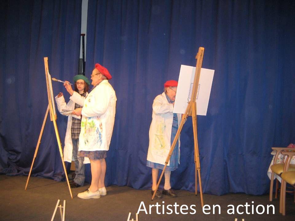 Artistes en action