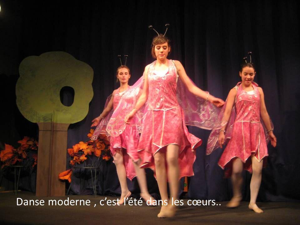 Danse moderne, cest lété dans les cœurs..
