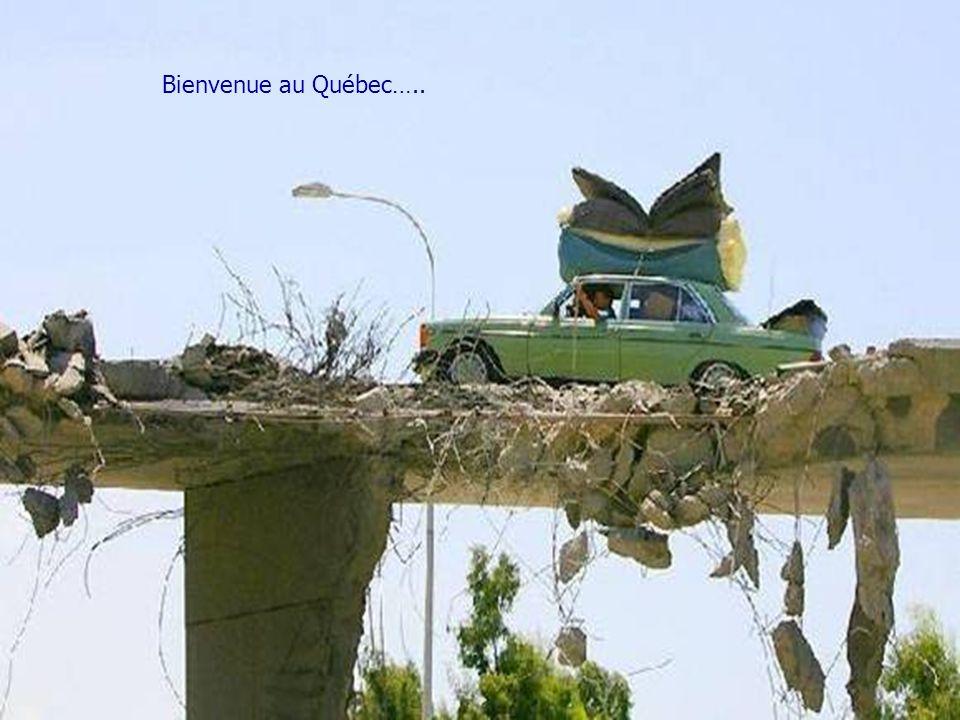 Bienvenue au Québec…..