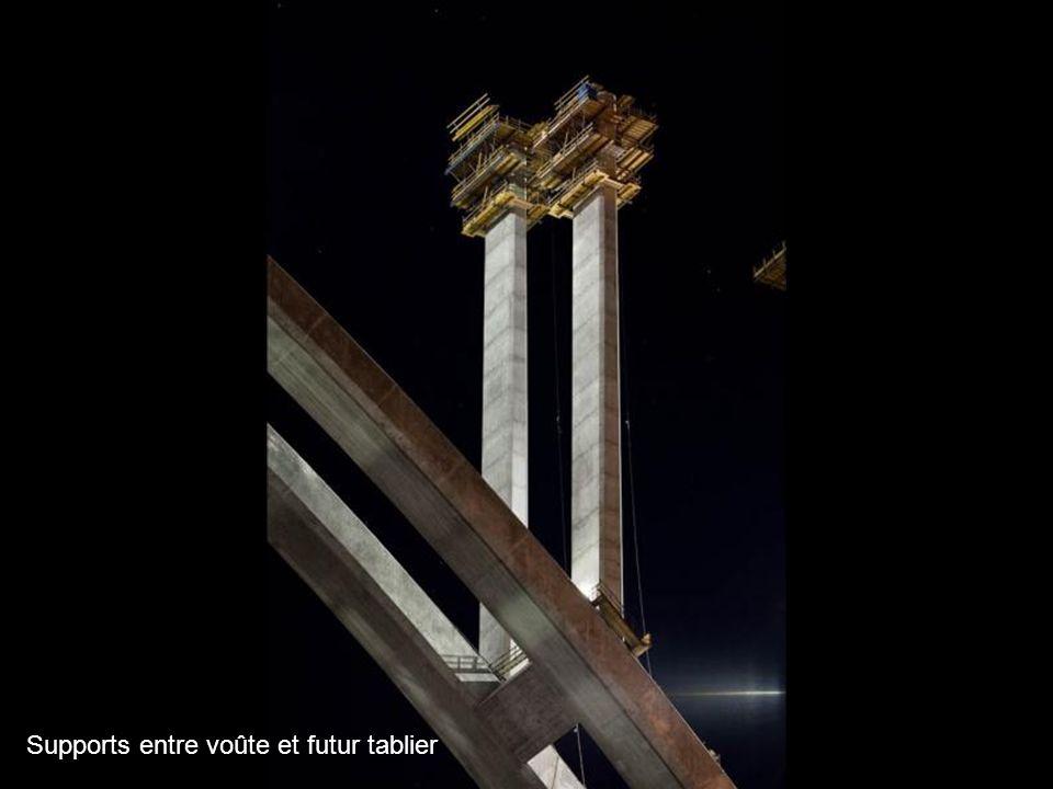 Les pylônes provisoires