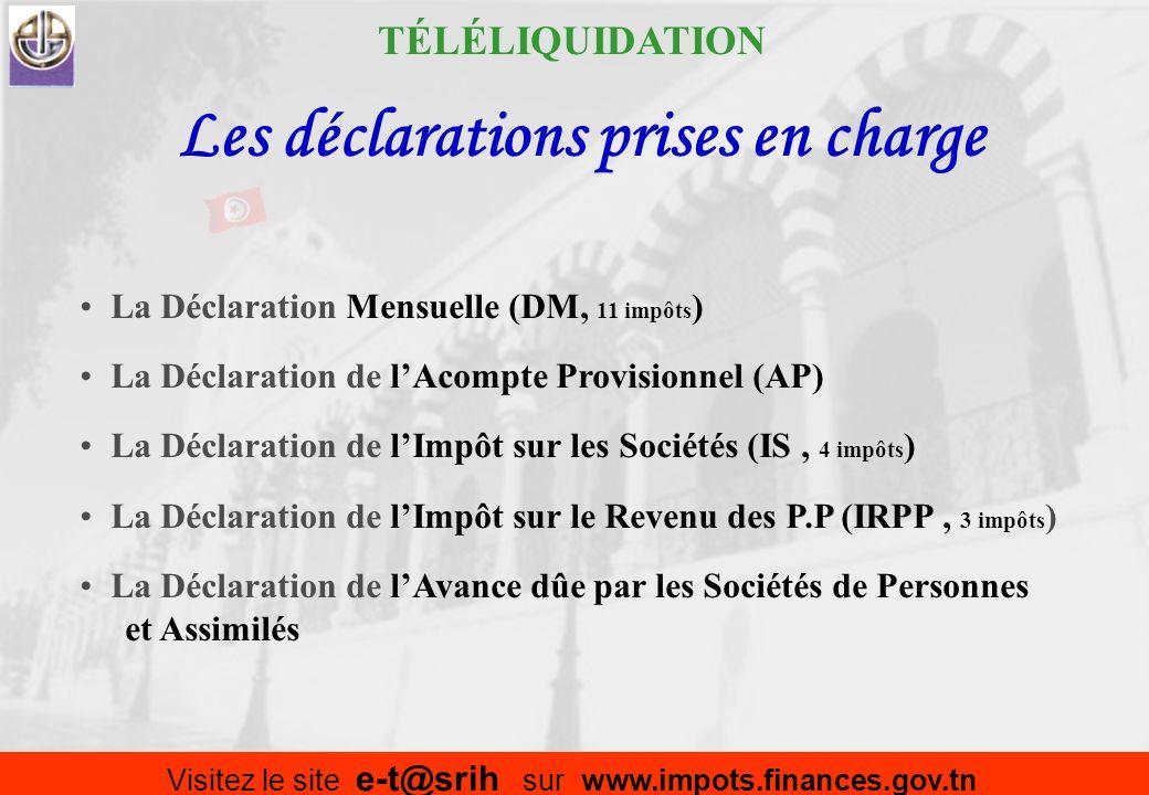 Comment adhérer Dépôt dune demande à la RF compétente (Télécharger formulaire de www.impots.finances.gov.tn) Octroi séance tenante, dun code daccès -