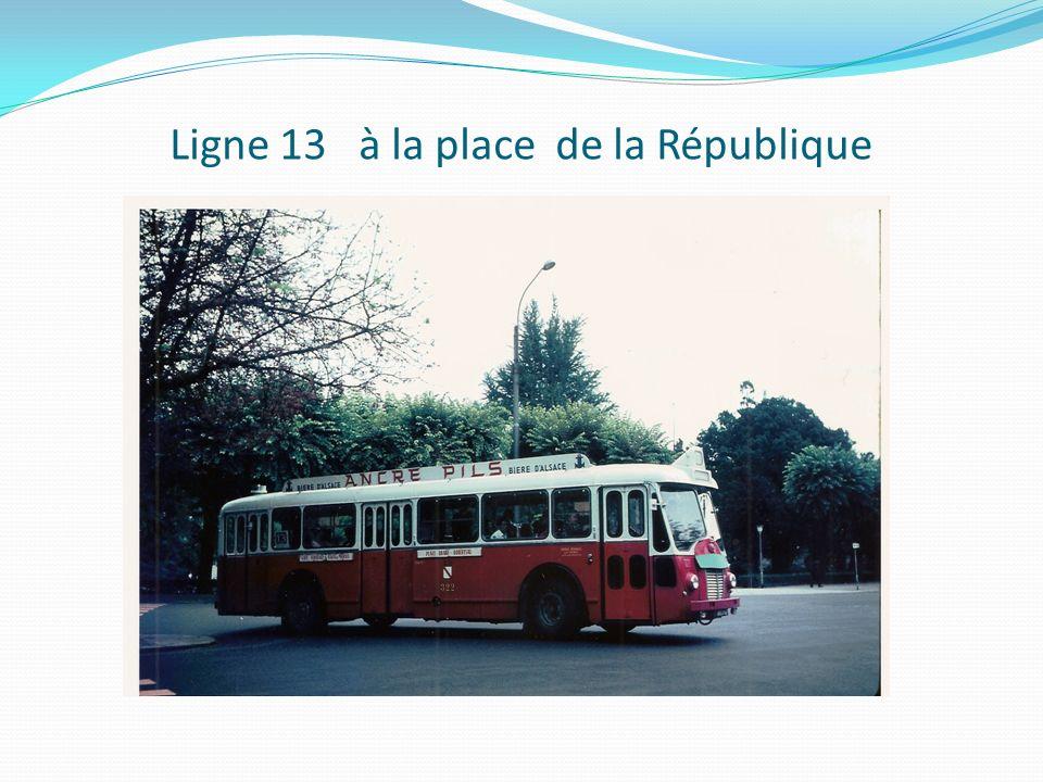Ligne 13 à la place de la République
