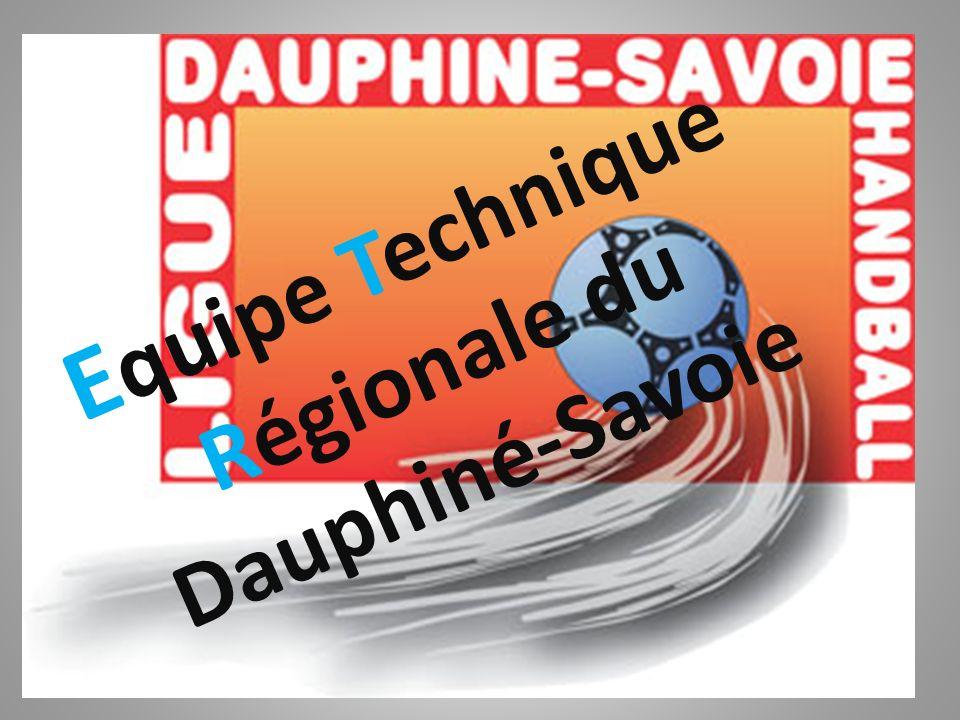 E quipe Technique Régionale du Dauphiné-Savoie