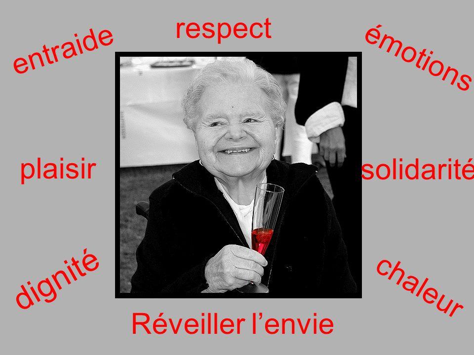 entraide solidarité émotions chaleur plaisir Réveiller lenvie dignité respect