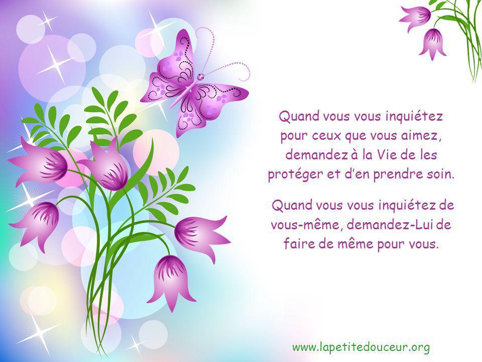 www.lapetitedouceur.org Quand vous résistez à des sentiments ou à des pensées, pratiquez lacceptation.