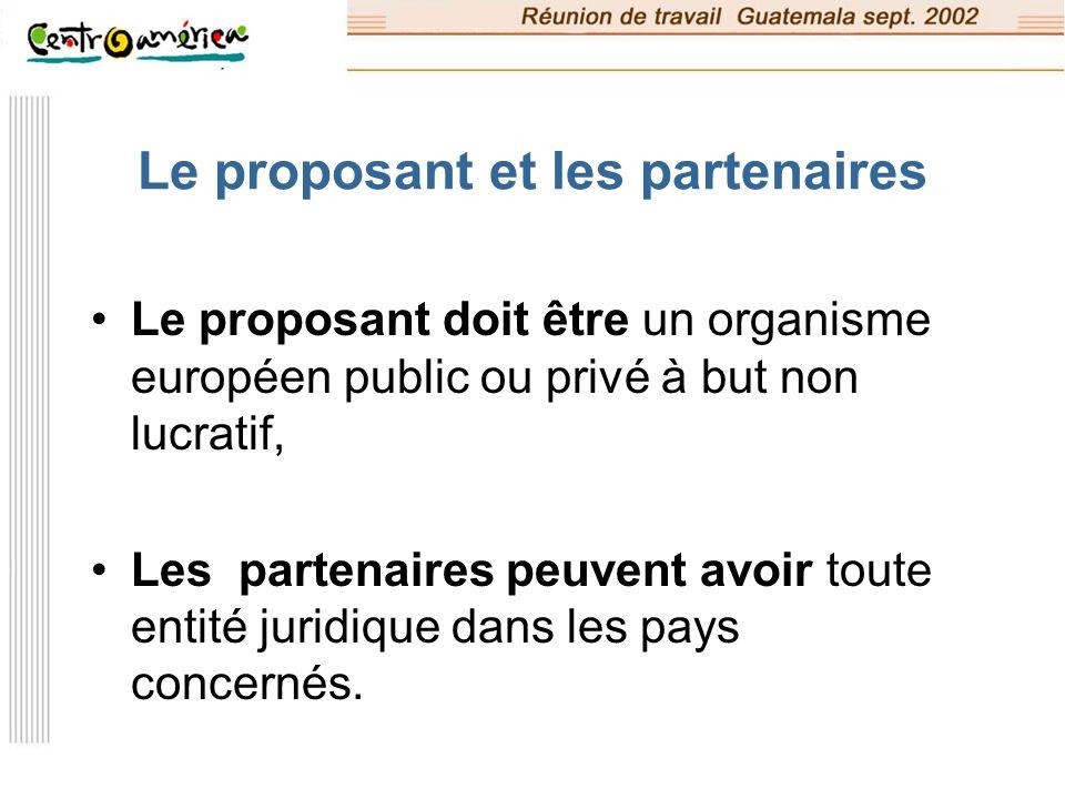 Les modes de financement de l UE Le budget global d ALIS : 40 M, La subvention par projet peut aller de 1,5 M à 3 M, Le % maximum de subvention du coût du projet est de 80% 20% doivent être financés par les pays partenaires (en subventions, en nature)