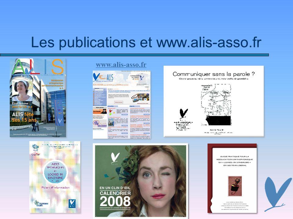 Les publications et www.alis-asso.fr www.alis-asso.fr