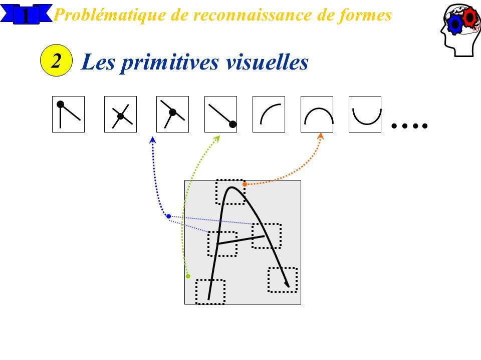 1 Problématique de reconnaissance de formes 2 Les primitives visuelles ….