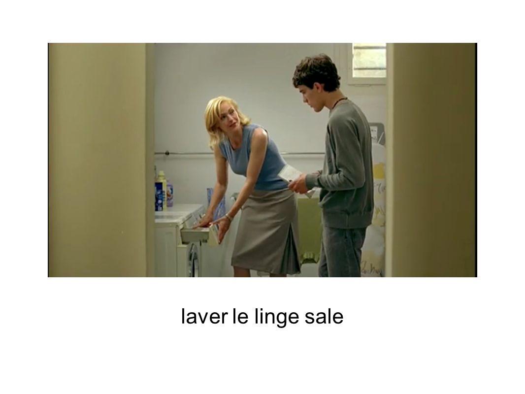 laver le linge sale