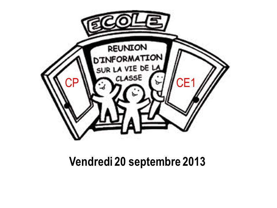 Vendredi 20 septembre 2013 CPCE1