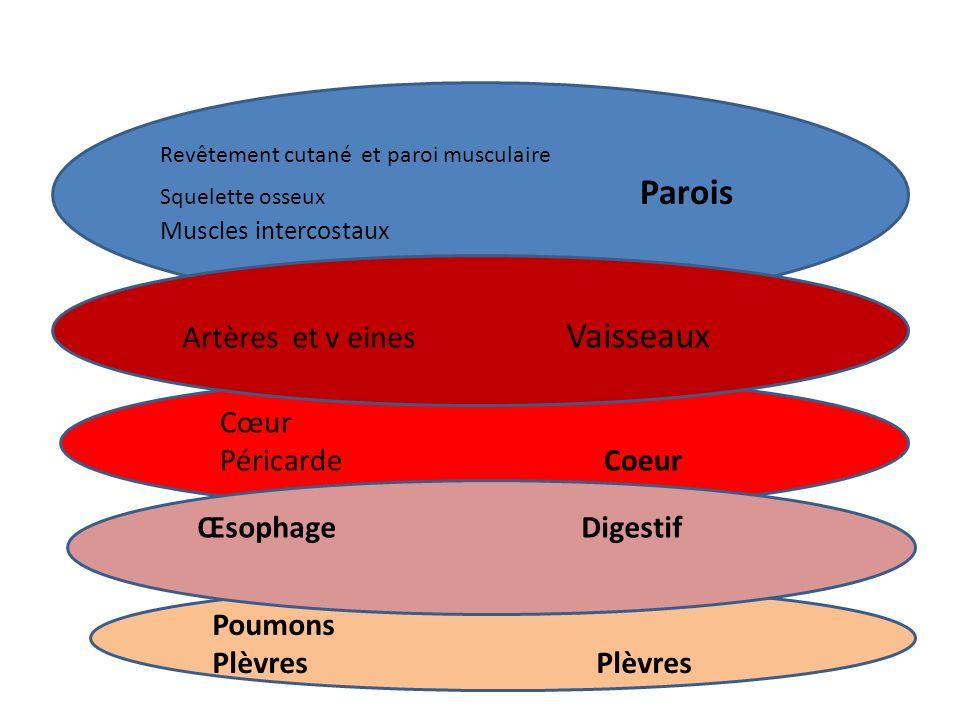 Pneumopathies et pleurésies Infections pulmonaires +/- réactions pleurales Douleurs latéralisées augmentées par la toux Contexte infectieux (fièvre) Tolérance variable selon clinique et terrain Diagnostic au minimum radiologique