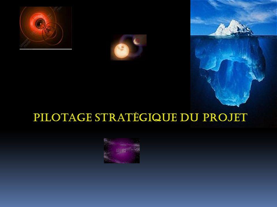 Pilotage stratégique du projet