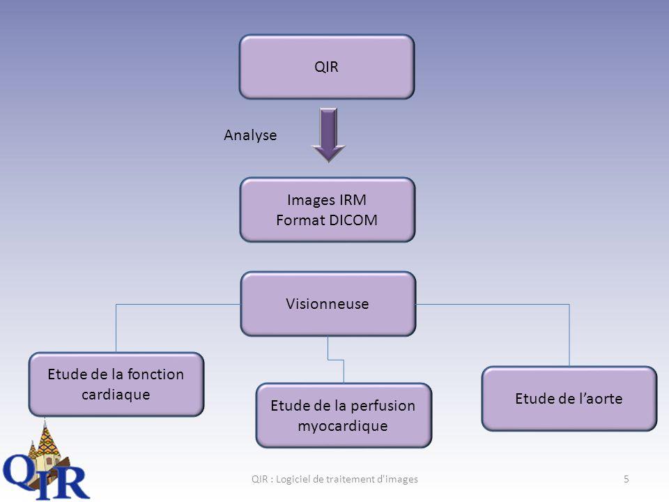 QIR : Logiciel de traitement d images16 III.