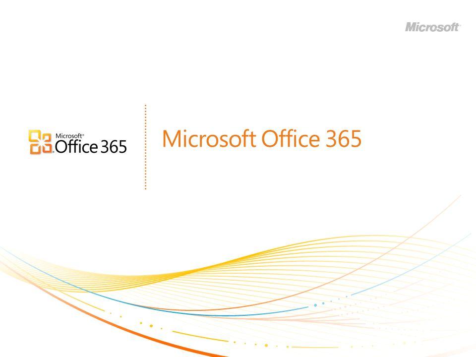 | Copyright© 2010 Microsoft Corporation Valeur de Microsoft Office 365 UNE MEILLEURE EXPÉRIENCE DE TRAVAIL Travaillez ensemble, dans de meilleures conditions ACCÈS EN TOUT LIEU* Résolvez des problèmes de pratiquement nimporte où OUTILS FAMILIERS Travaillez avec ce que vous connaissez SÉCURITÉ ET FIABILITÉ 99,9% de temps de fonctionnement garanti CONTRÔLE INFORMATIQUE ET EFFICACITÉ Gardez le contrôle Inclut : MICROSOFT ® OFFICE 365 APPORTE LA PUISSANCE ET LEFFICACITÉ DU CLOUD AUX ENTREPRISES DE TOUTES TAILLES POUR LEUR FAIRE GAGNER DU TEMPS, RÉALISER DES ÉCONOMIES ET LIBÉRER DES RESSOURCES DE VALEUR