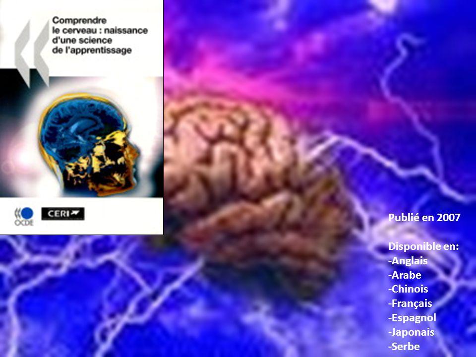 Seconde partie de la publication 2007: articles écrits en trinômes 3 articles écrits en collaboration par des neuroscientifiques et des chercheurs en éducation, incluant les réactions et commentaires denseignants, pour offrir différentes perspectives sur le cerveau apprenant Cerveau, développement et apprentissage dans la petite enfance par Collette Tayler (AUS) & Nuria Sebastian (SP), réponse de lenseignant par Bharti (IND) CERVEAU ET APPRENTISSAGE À LADOLESCENCE par Karen Evans (UK) & Christian Gerlach (DK), réponse de lenseignant par Sandrine Kelner (F) Cerveau, cognition et apprentissage à lâge adulte par Raja Parasuraman (USA) & Rudolf Tippelt (D), réponse de lenseignant par Liet Hellwig (NL/CDN)