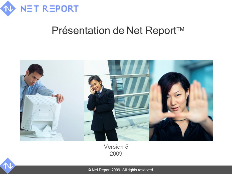 © Net Report 2009. All rights reserved. 17 mai 201422 UTM Dashboards