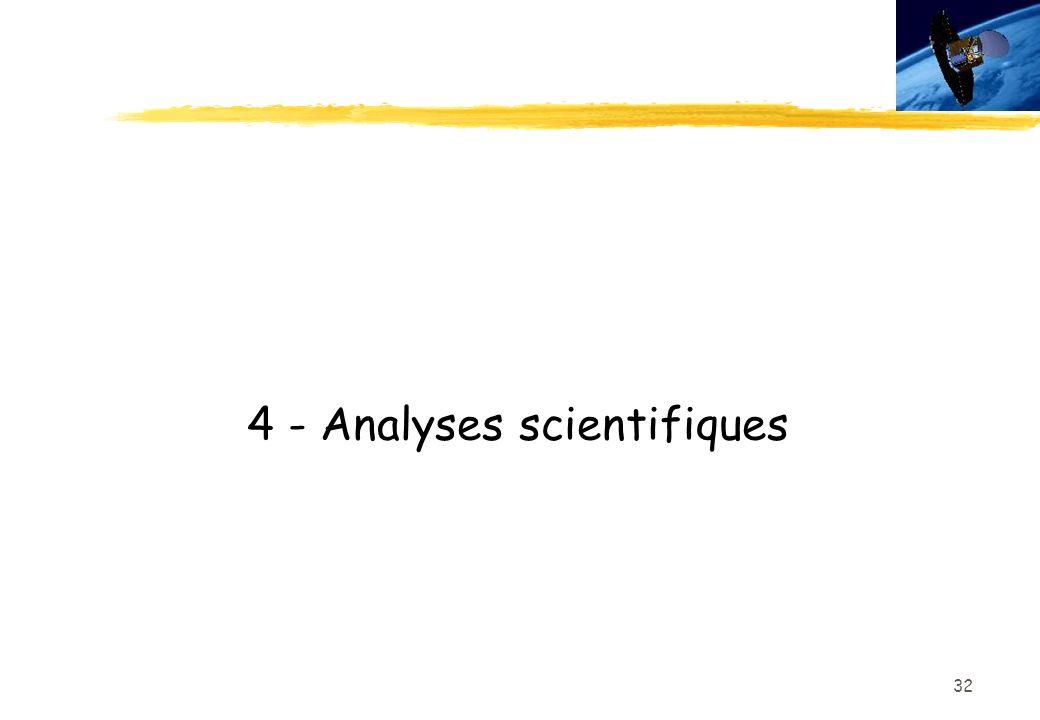 32 4 - Analyses scientifiques