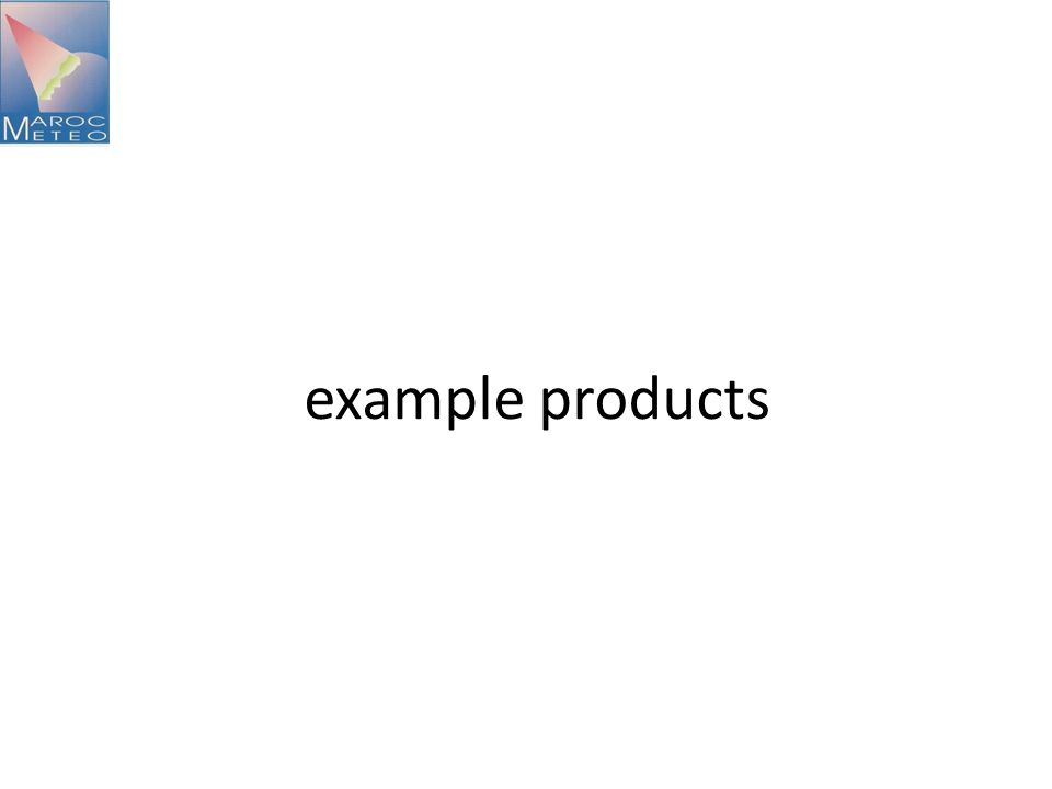 example products