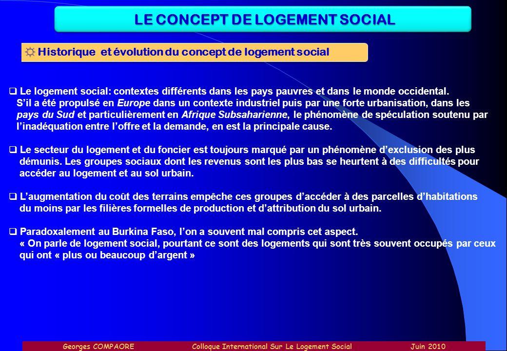 Le logement social: contextes différents dans les pays pauvres et dans le monde occidental. Sil a été propulsé en Europe dans un contexte industriel p