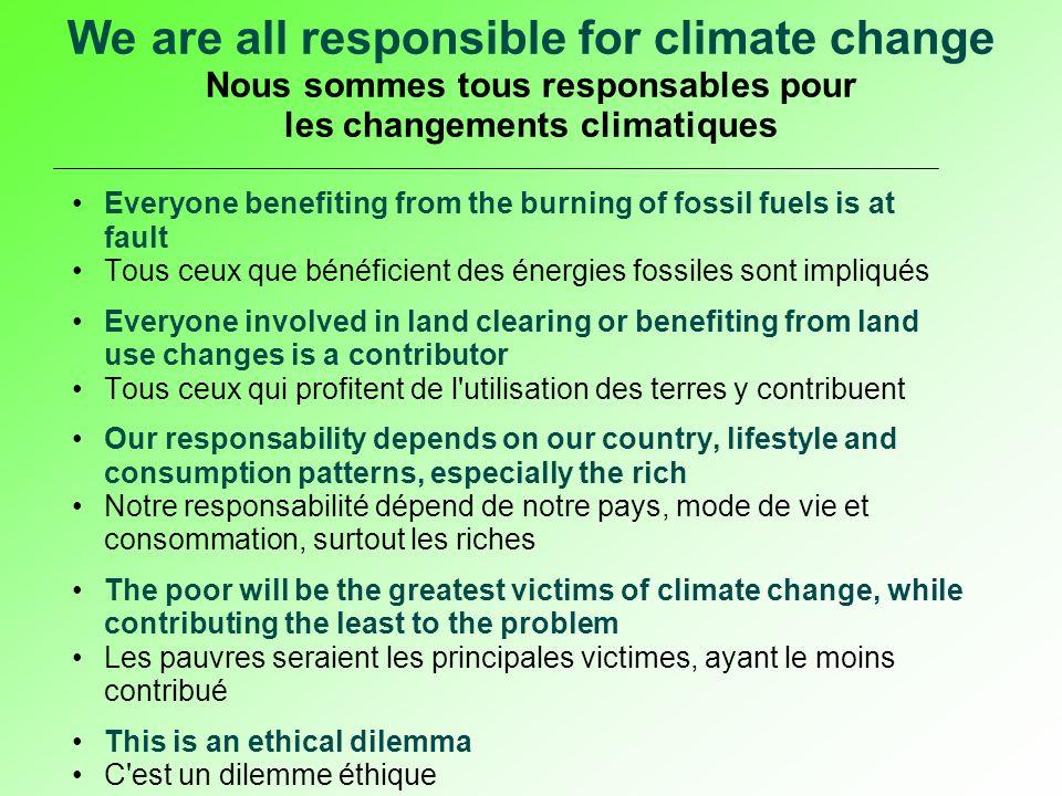 Only such a system will give the right signals for challenges like climate change and sustainability Seul un tel système pourrait donner des signaux justes pour les défis comme les changements climatiques et la durabilité