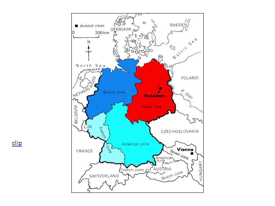 Le Blocus de Berlin Ce massif pont aérien dura 11 mois après lequel en 1949pont aérien les trois secteurs occidentaux se réunirent pour former la République Fédérale Allemande (RFA).