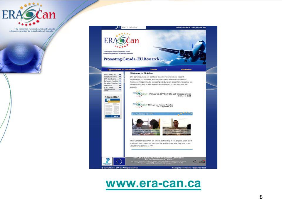8 www.era-can.ca