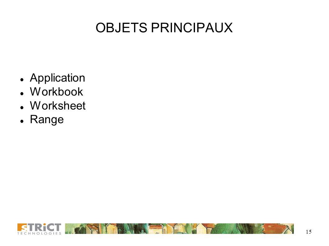 14 MODÈLE D'OBJETS EXCEL (3)